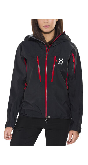 Haglöfs Spitz Jacket Women true black/real red